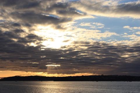 Auckland - Devonport in the evening