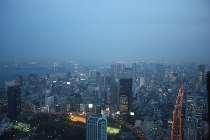Tokyo by night (view from the Tokyo Tower)