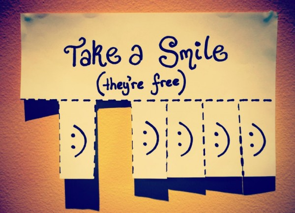 100 Ways To Live A Better Life – 52. Smile At Least 10 Times A Day